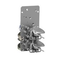 Gecodeerde meervoudige sleutelschakelaar met magneetpsoelvergrendeling inbouw versie
