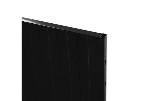 USRP volle plaat paneel 2200mm hoog - zwart
