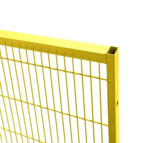 ST30 gaaspaneel 1400mm hoog - geel