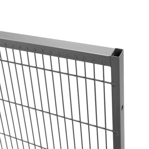 ST30 mesh panel 1400mm height -grey