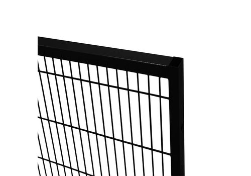 ST30 mesh panel 1400mm height - black
