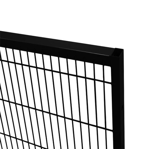 ST30 mesh panel 2200mm height - black