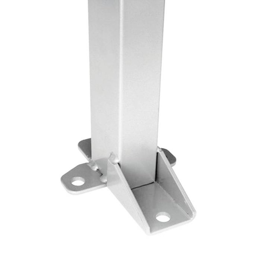 Galvanised post 60 x 40 x 2200mm