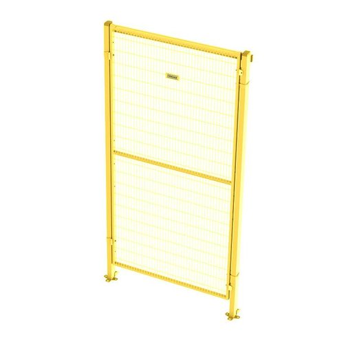 Single hinghed door 2200mm height - yellow