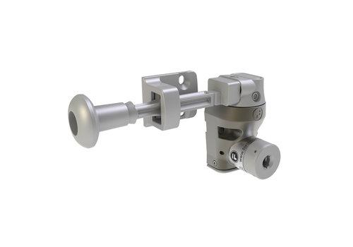 Single steel door interlock wit handle actuator DM1
