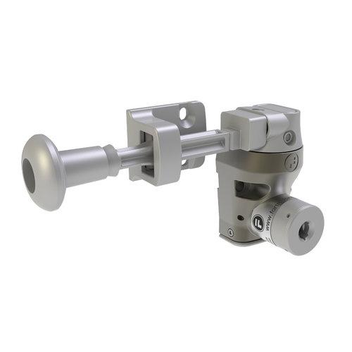 Einfach Metall Türverriegelung mit Griffbetätiger DM1