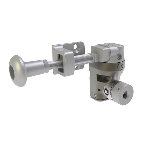 Single steel door interlock with handle actuator DM1