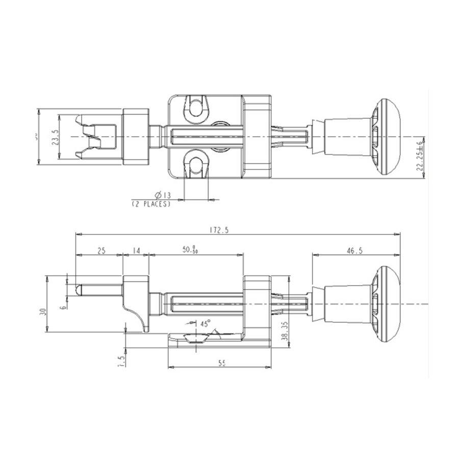 Coded door interlock with handle actuator PLe