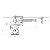 Coded stainless steel door interlock with handle actuator PLe