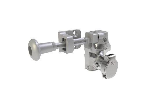 Single stainless steel door interlock wit handle actuator DMSK