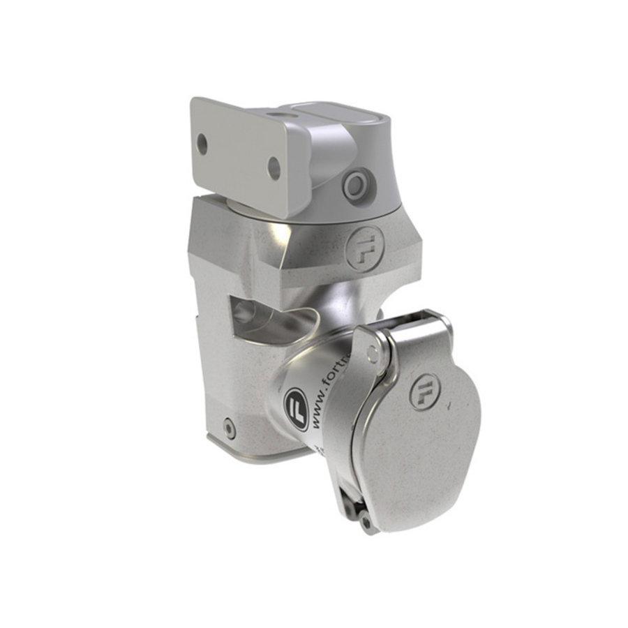 Coded stainless steel door interlock with fixed actuator PLe