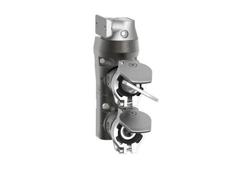 Stalen deurvergrendeling  met veiligheidssleutel en vaste tong  DM2