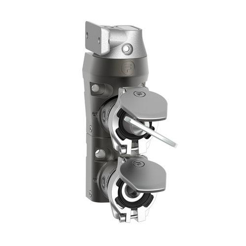 Metall Türverriegelung mit persönlicher Schlüssel und Zungenbetätiger DM2