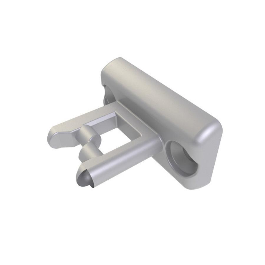 Gecodeerde dubbele deurvergrendeling RVS met vaste tong PLe