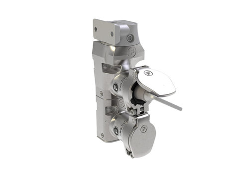 Stainless steel door interlock wit safety key and fixed actuator DMSK2