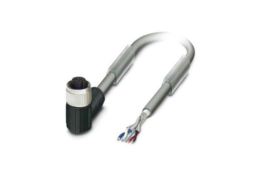 Cable and connector M12, 5-pole