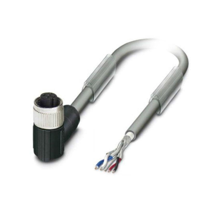 PVC Kabel mit 1 Stecker M12, 5-polig (Buchse)