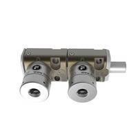 Coded bolt lock with 2 locks