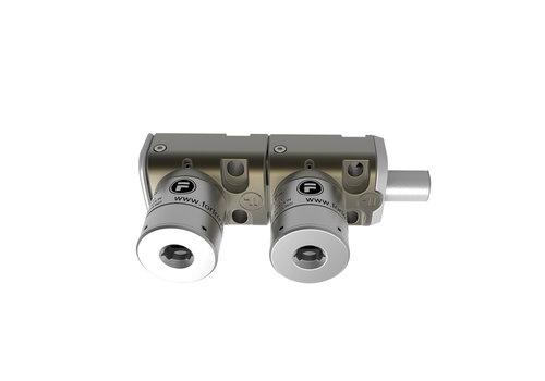 Double steel bolt lock BM2