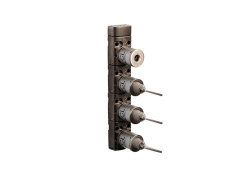 Metal key exchange box with 4 locks XM4