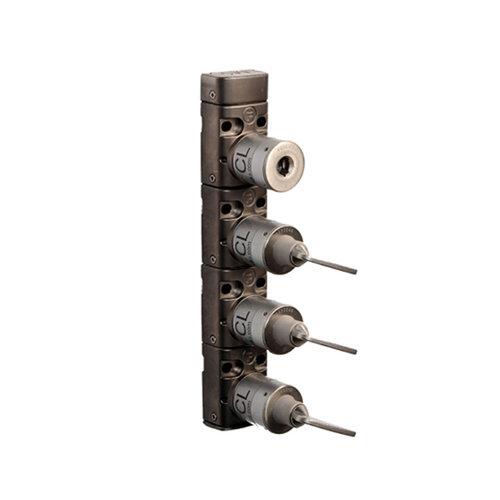 Metall Schlüseltransfermodul mit 4 Schlössern XM4