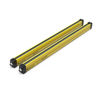 Type 4 safety light curtain with 70mm resolution for body detection MLG-70