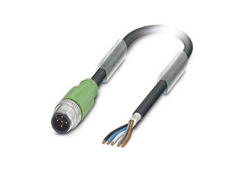 Kabel und Stecker M12, 5-polig