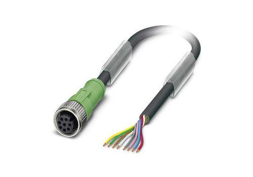 Kabel und Stecker M12, 8-polig