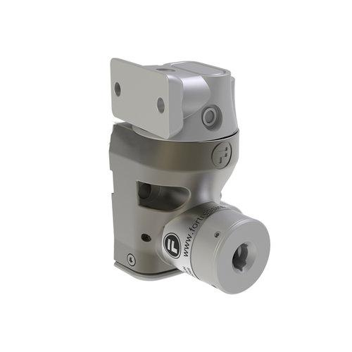 Einfach Metall Türverriegelung mit Zungenbetätiger DM1