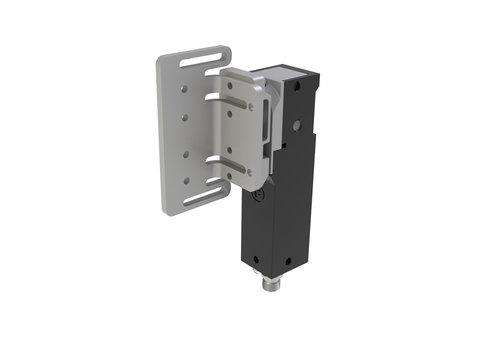 RFID Sicherheitszuhaltung aus Metall PLe mit Winkel-Betätiger ATOM