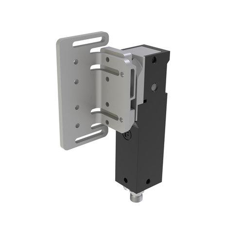 RFID safety interlock steel PLe with angled actuator ATOM