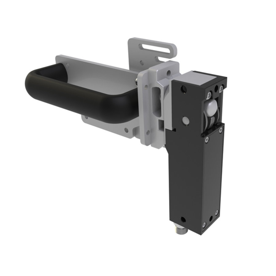 Robust RIFD steel safety interlocks switch with ball and handle operated actuator PLe