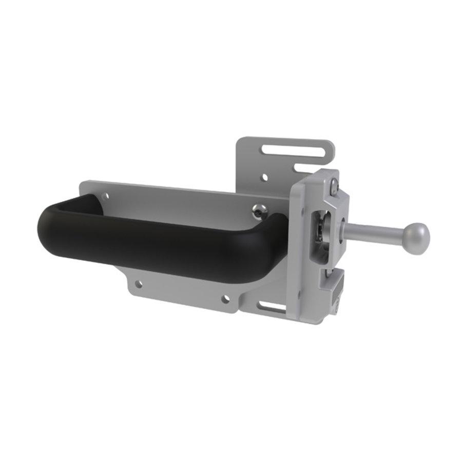 Robuster RFID Sicherheitsschalter mit Zuhatlung aus Metall mit Ball Griff-Betätiger PLe