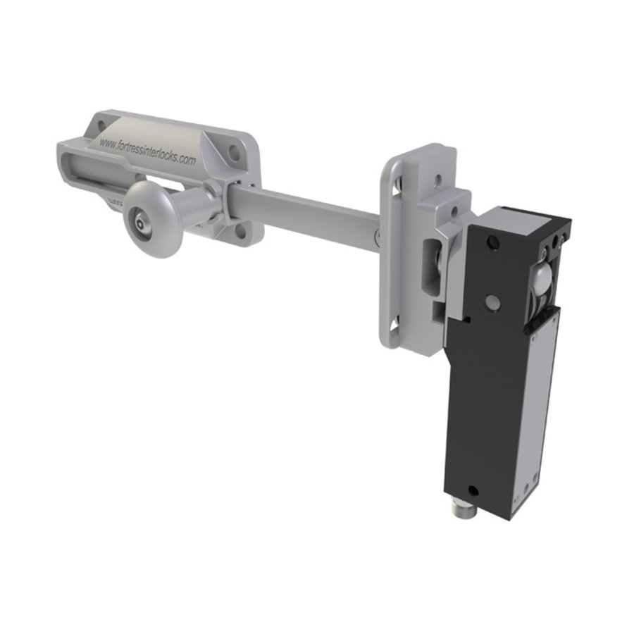 Robust RIFD steel safety interlocks switch with ball and slide bar operated actuator PLe