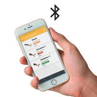 Procesvergrendeling met RFID uniek gecodeerde veiligheidssensor en 600N houdkracht