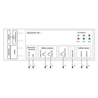 Procesvergrendeling met RFID gecodeerde veiligheidssensor en 1200N houdkracht