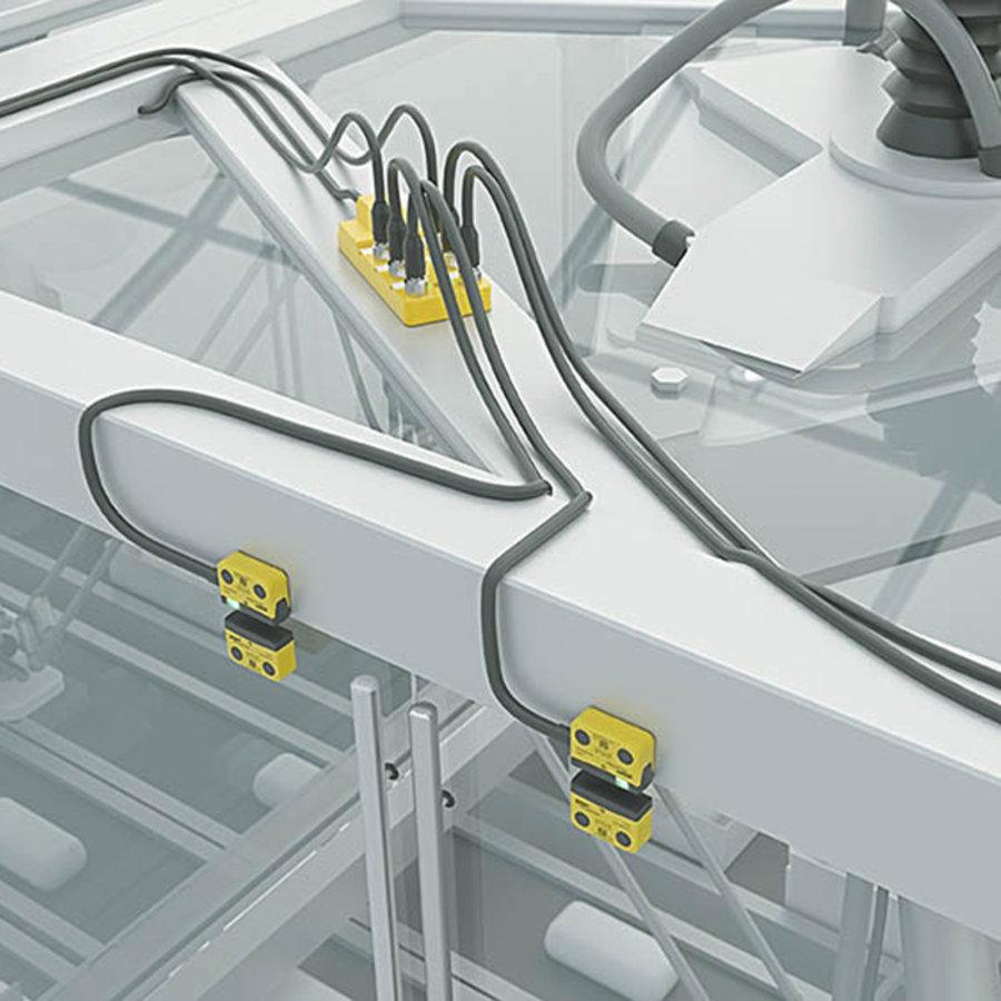 Berührungslose RFID indiviudell codierter Sicherheitssensor (wiedereinlernbar) SAFIX W3-A