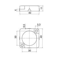 Berührungslose RFID uni codierte Sicherheitssensor PSEN CS2