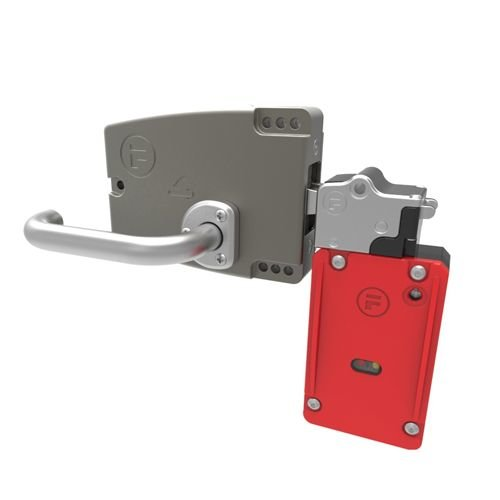 Veiligheidsvergrendeling staal PLe met deurklink EN2T6SL411