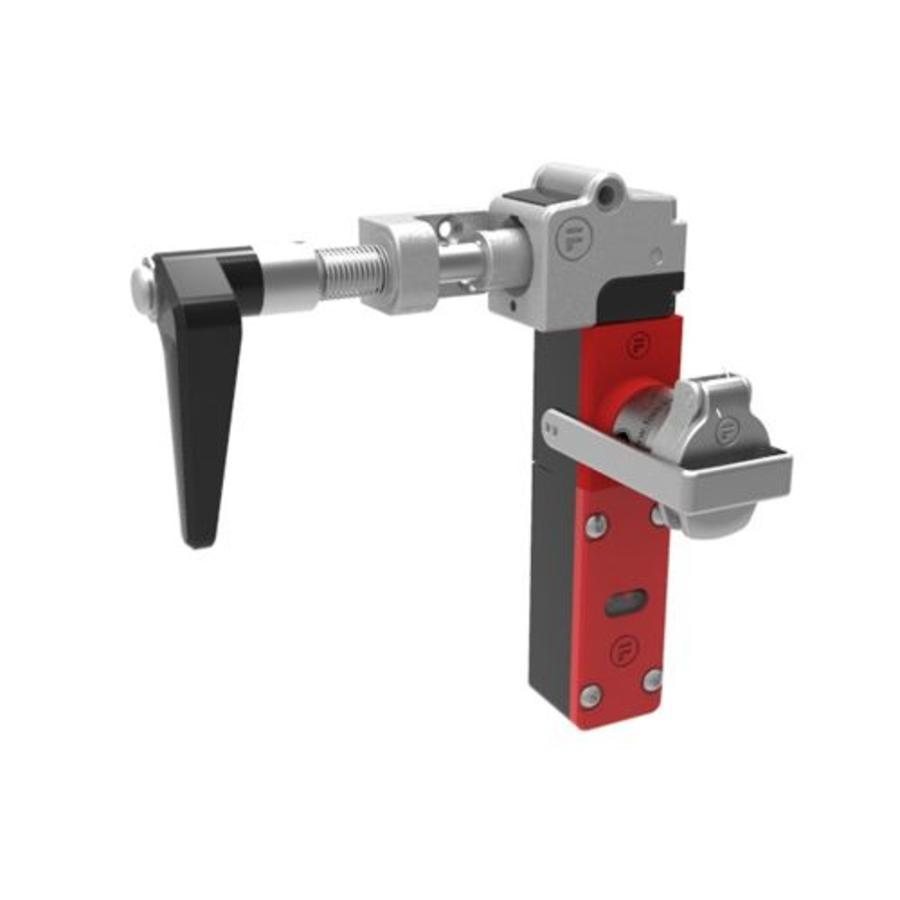 Sehr robuster Sicherheitsschalter aus Metall mit Griffbetätiger und Sicherheitsschlüssel (obligatorischen ausnahme) PLe