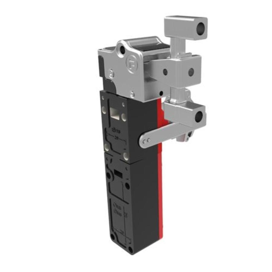 Extreme robust actuator operated aluminium safety switch with safety key (extracted key) PLe