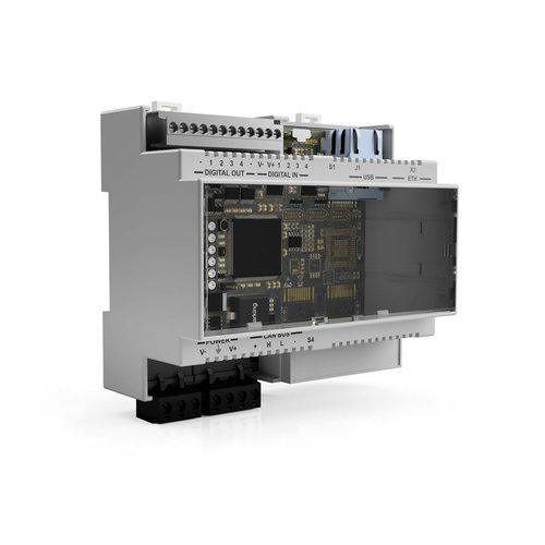 Ethernet and digital I/O control unit safety radar system ISC-02