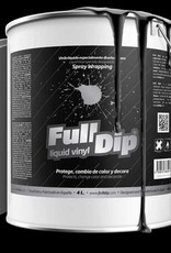 FullDip Mat Zwart gallon 4 liter