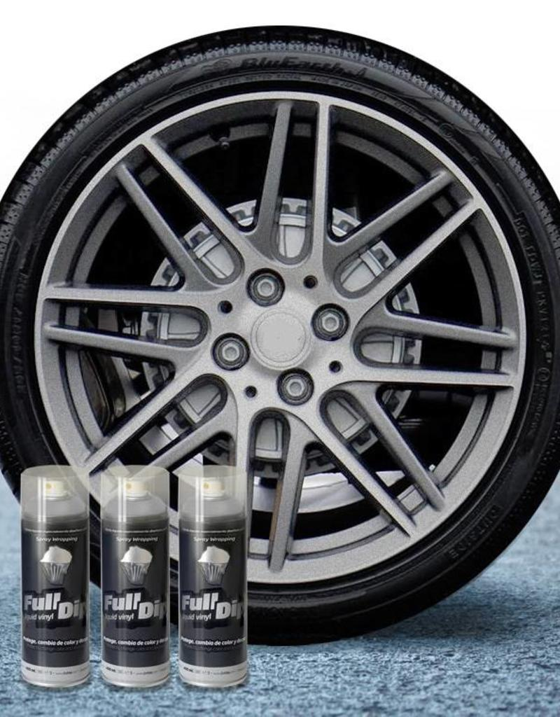 FullDip FullDip® Velgen pakket Aluminium metallic