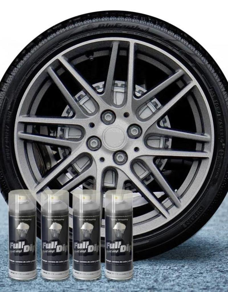 FullDip FullDip® paquete de llantas Aluminium metalizado