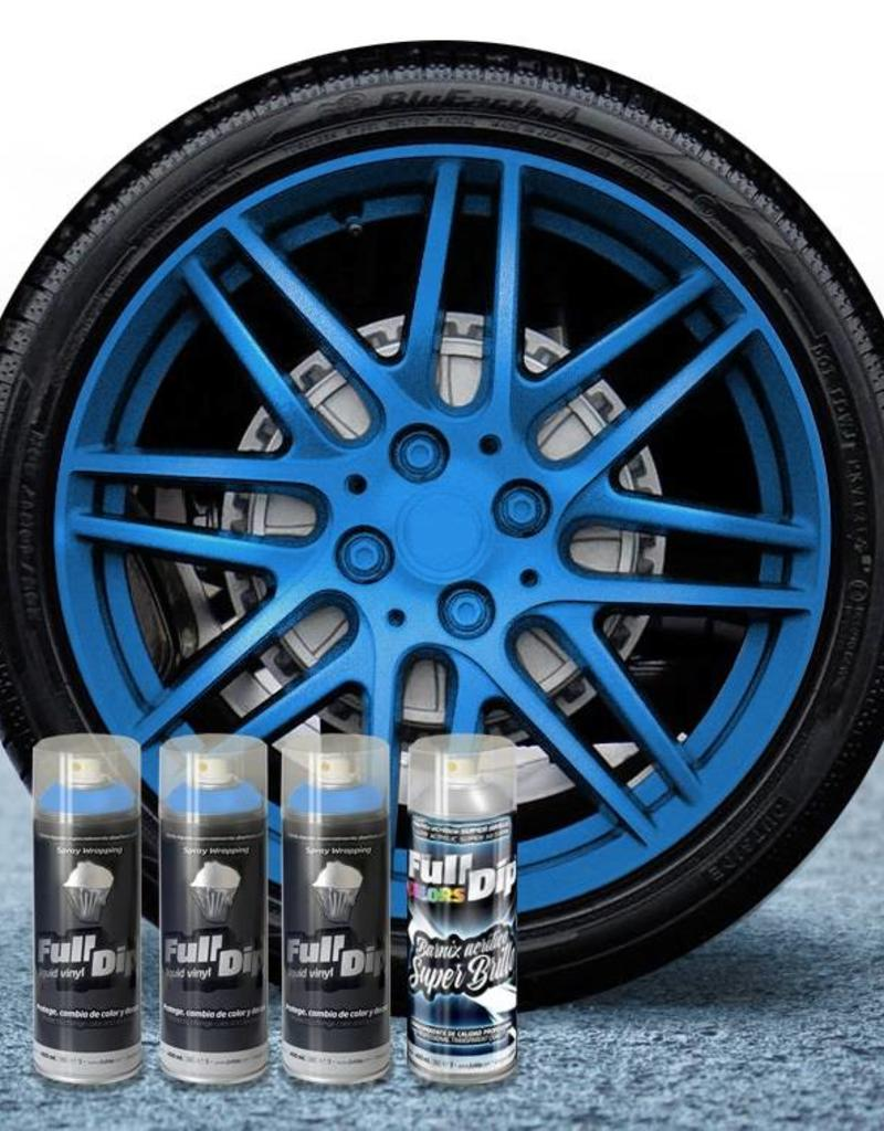 FullDip FullDip® Velgen pakket Blue metallic