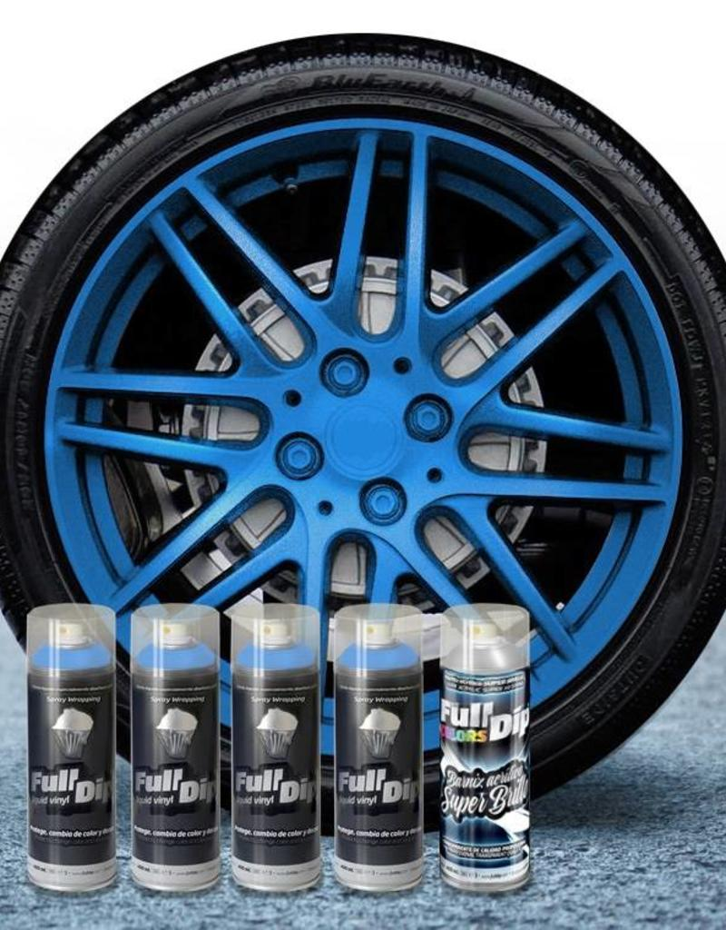 FullDip FullDip® rims package Blue metallic