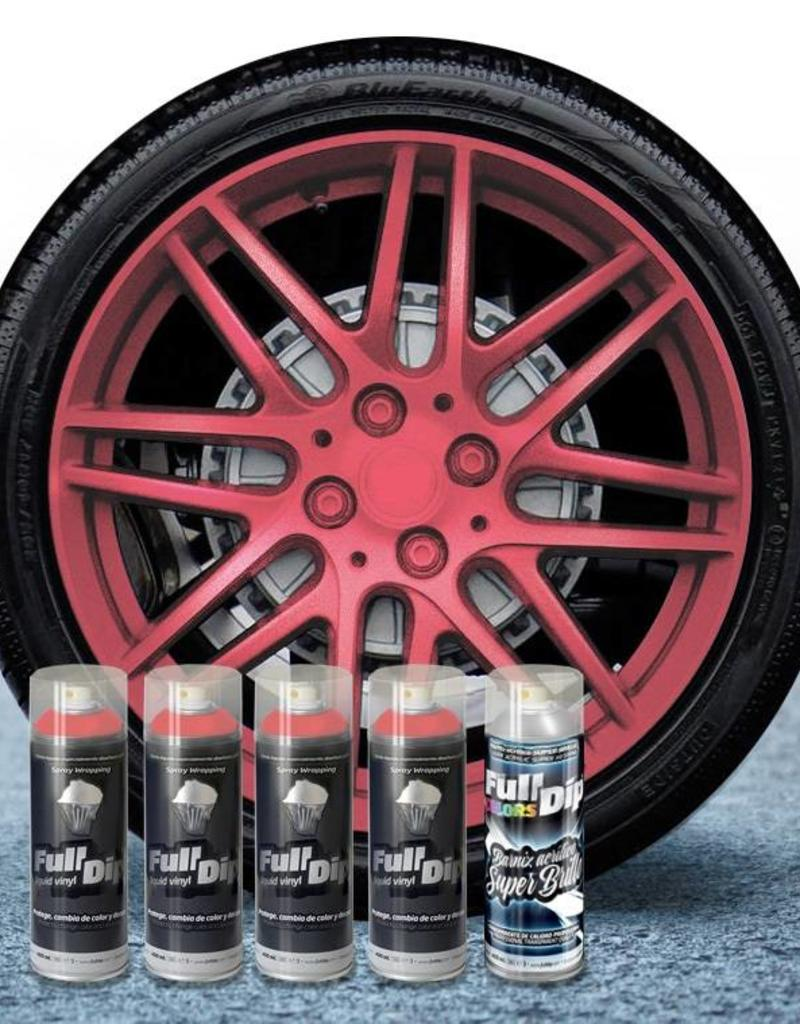 FullDip FullDip® Felgen-paket Roze metallic