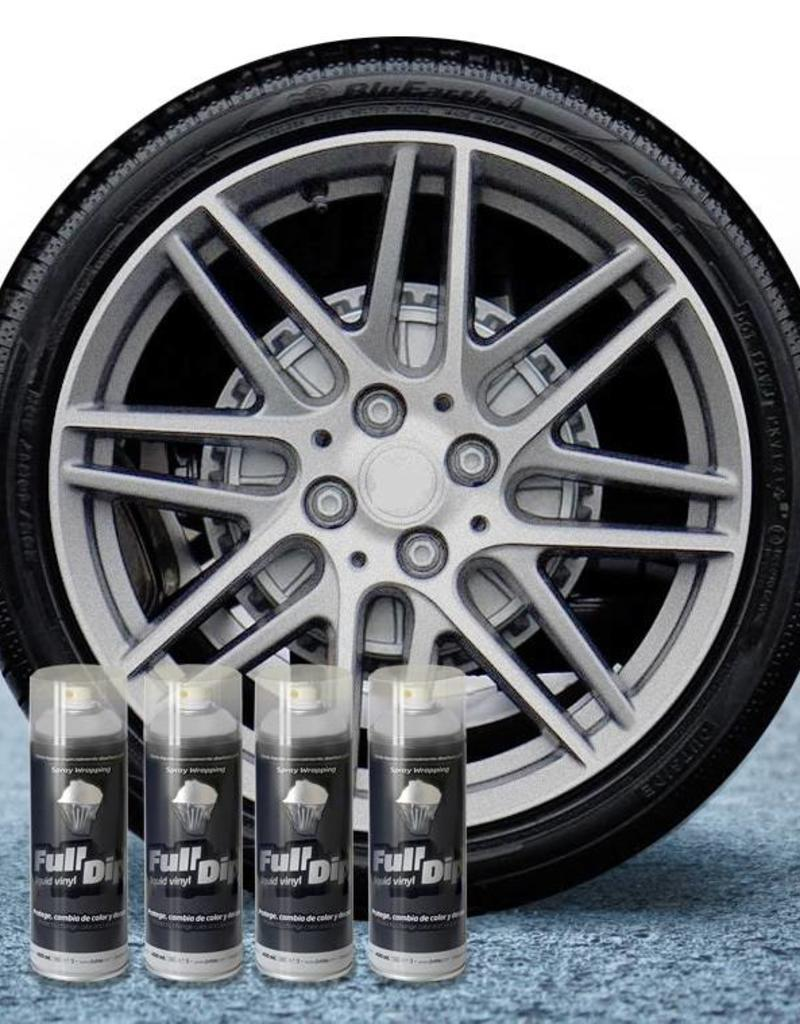 FullDip FullDip® Felgen-paket Hyper Silver metallic