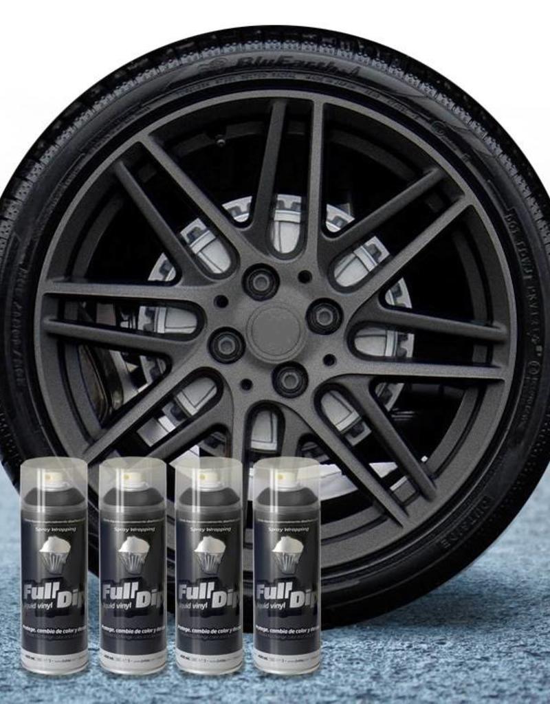 FullDip FullDip® paquete de llantas Hyper Black metalizado